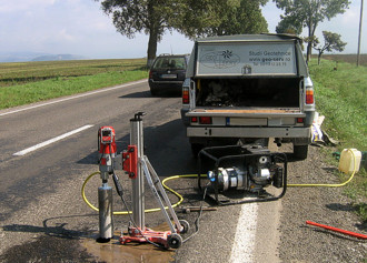 Road geotechnical survey